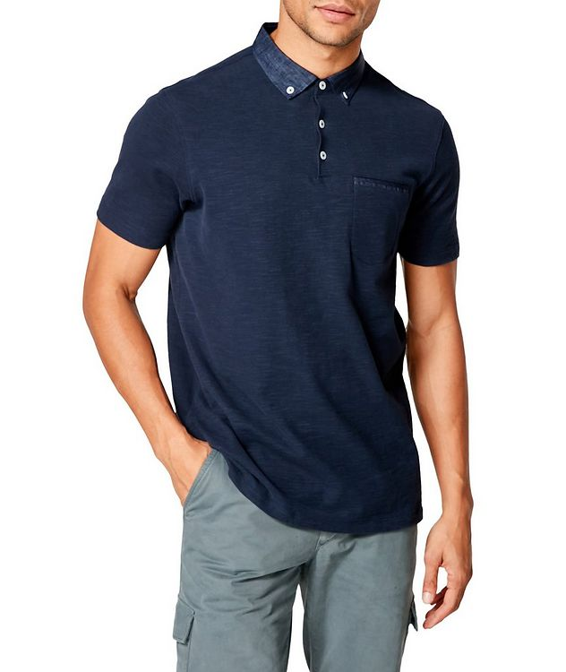 Slub Cotton-Jersey Polo picture 1