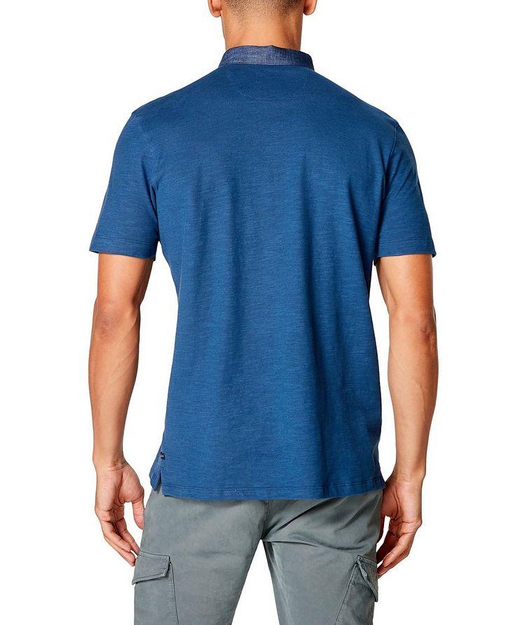 Slub Cotton-Jersey Polo image 1