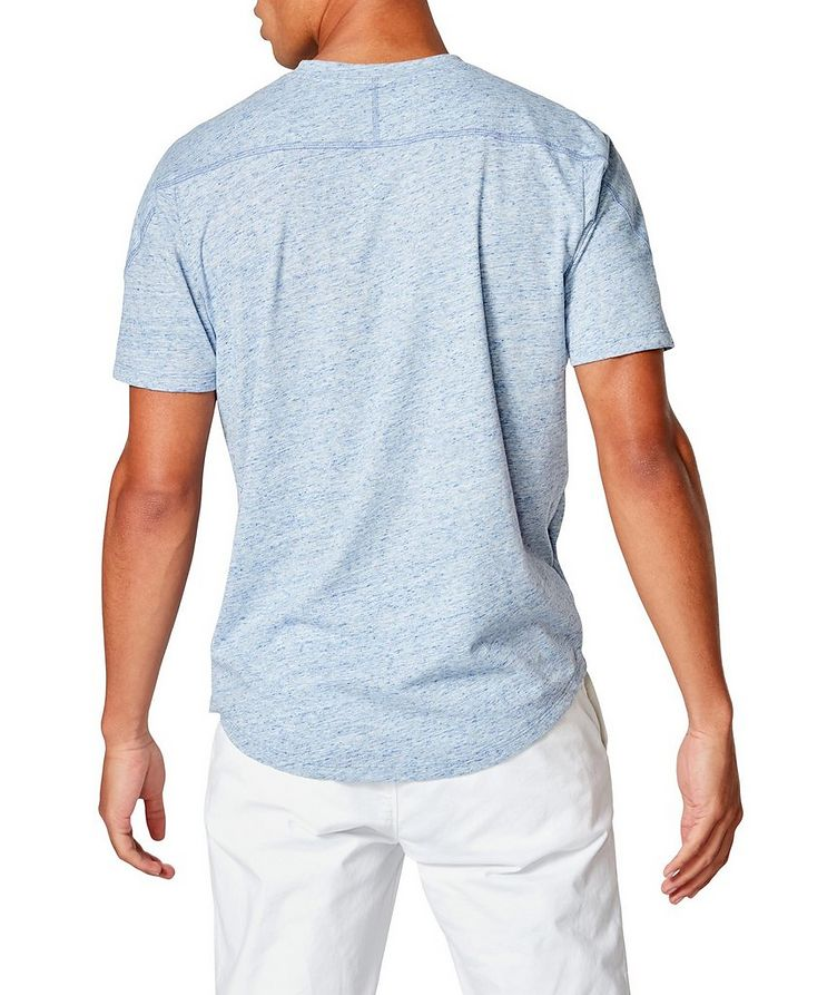 Notched Cotton-Jersey T-Shirt image 1