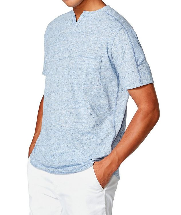 Notched Cotton-Jersey T-Shirt picture 3