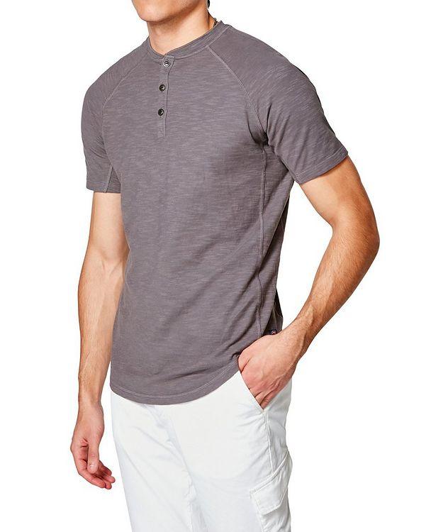 Short-Sleeve Slub Jersey Henley picture 3