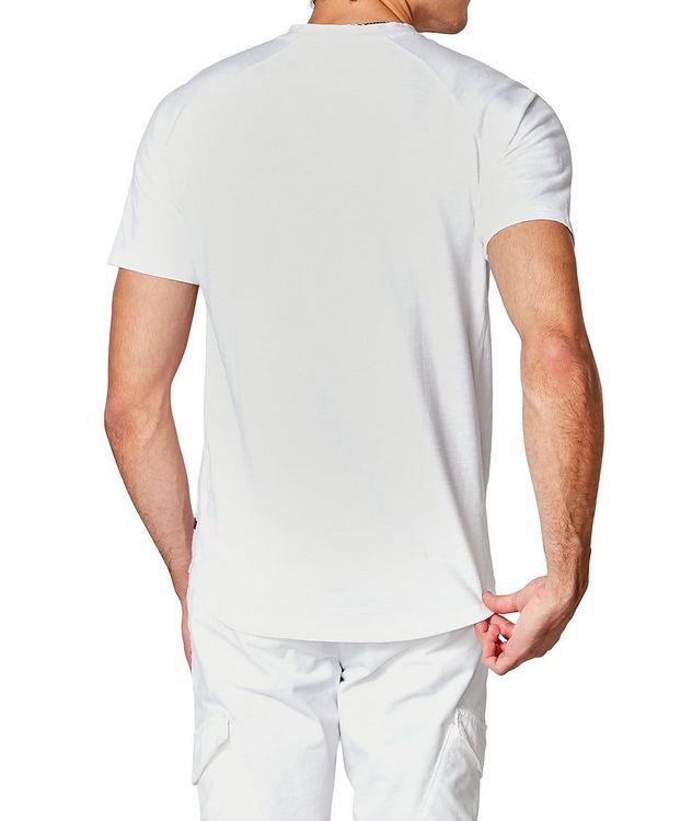 Short-Sleeve Slub Jersey Henley picture 2