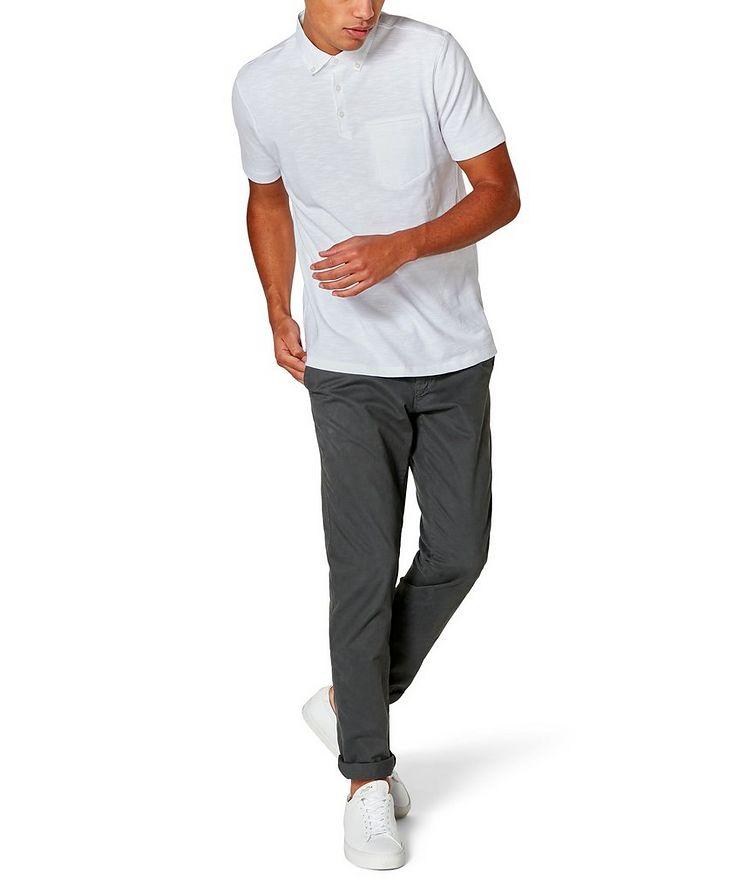 Slub Cotton-Jersey Polo image 3
