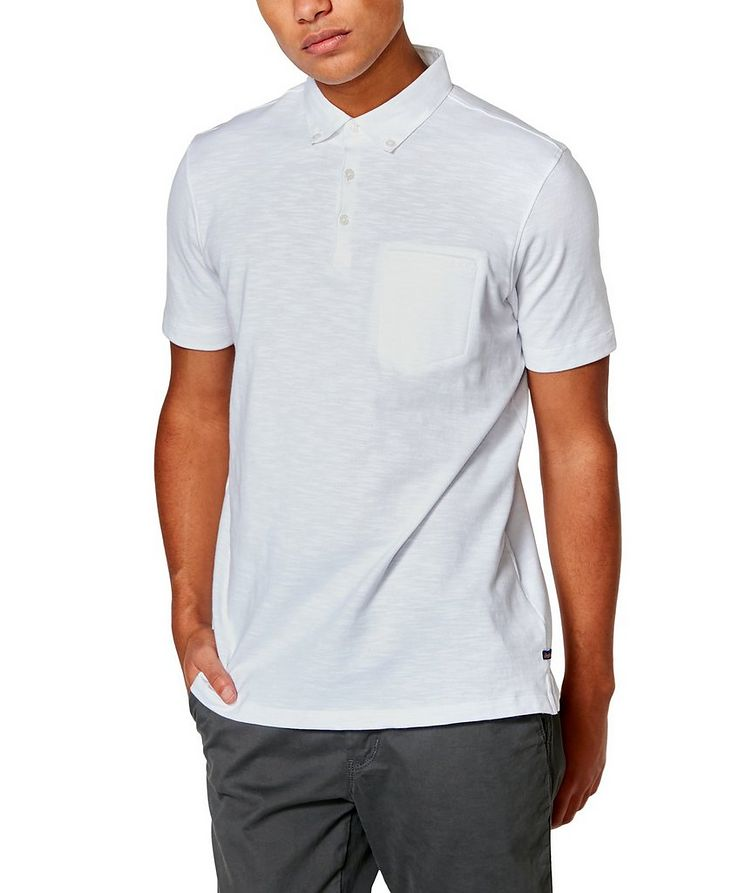 Slub Cotton-Jersey Polo image 0