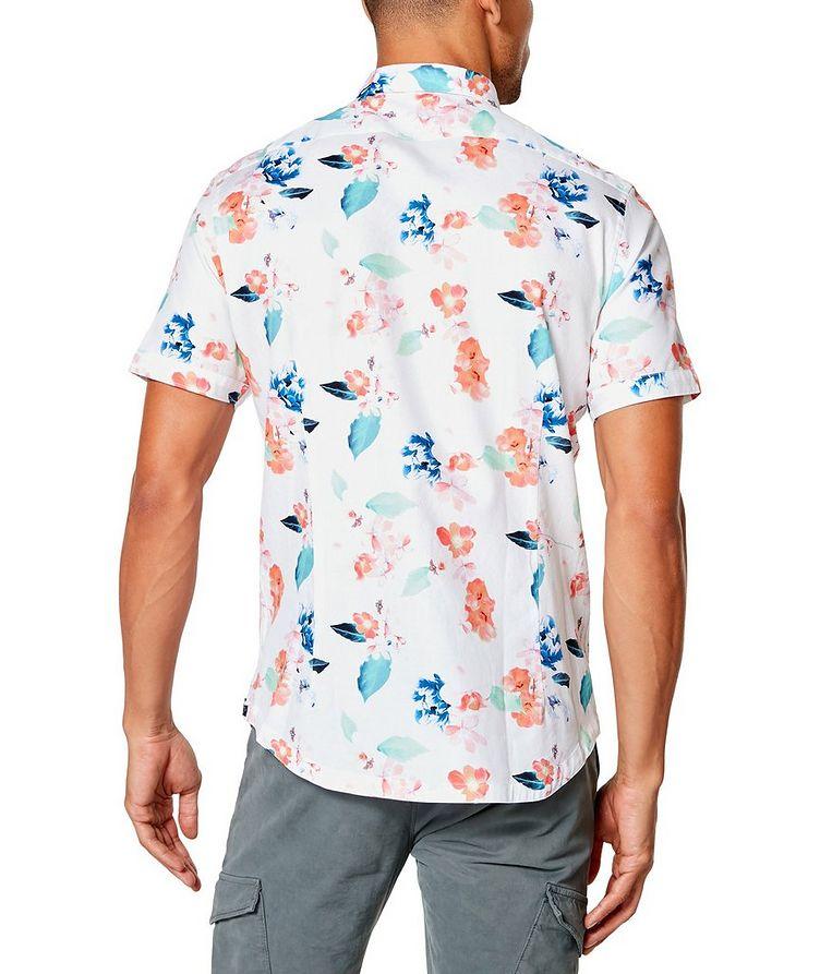 Short-Sleeve Botanical-Printed Shirt image 1