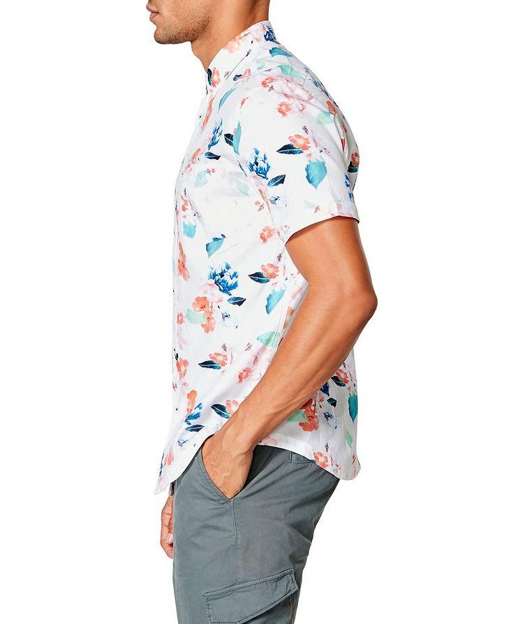 Short-Sleeve Botanical-Printed Shirt image 2