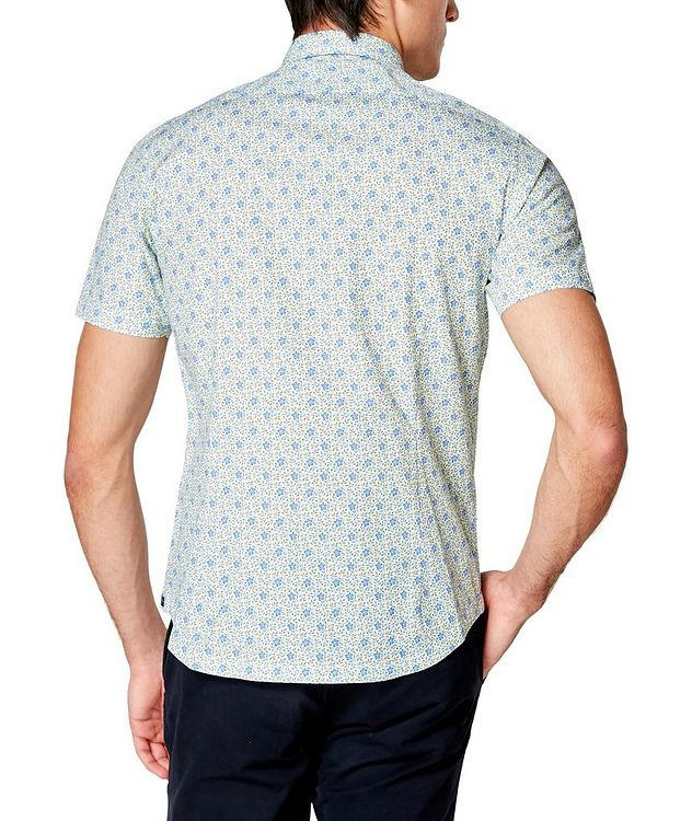Short-Sleeve Botanical-Printed Shirt picture 2