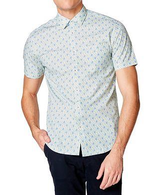 The Goodman Brand Short-Sleeve Botanical-Printed Shirt