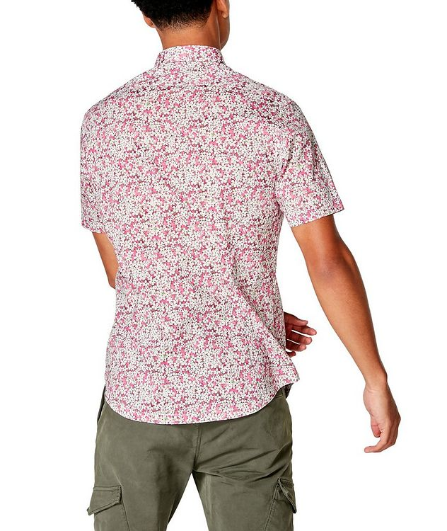 Short-Sleeve Botanical-Printed Shirt picture 2