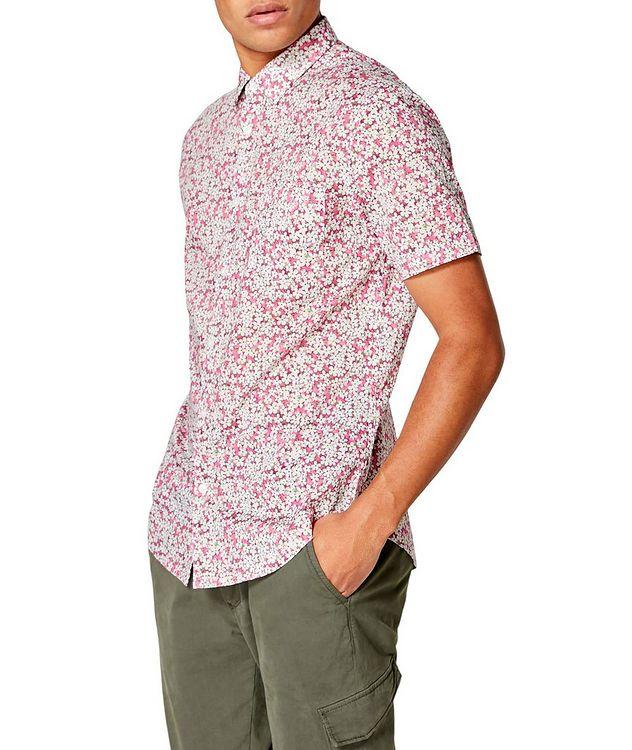 Short-Sleeve Botanical-Printed Shirt picture 3