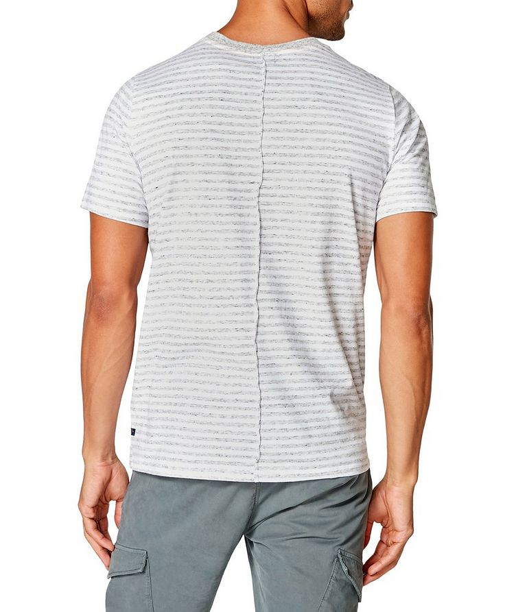 Notched Cotton-Jersey T-Shirt image 1