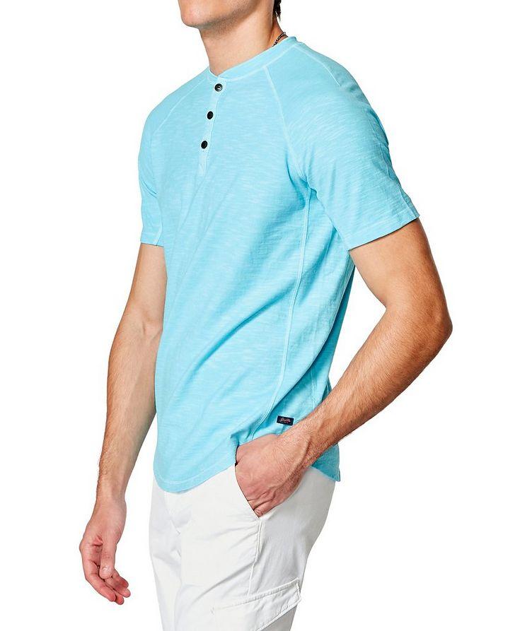 Short-Sleeve Slub Jersey Henley image 2