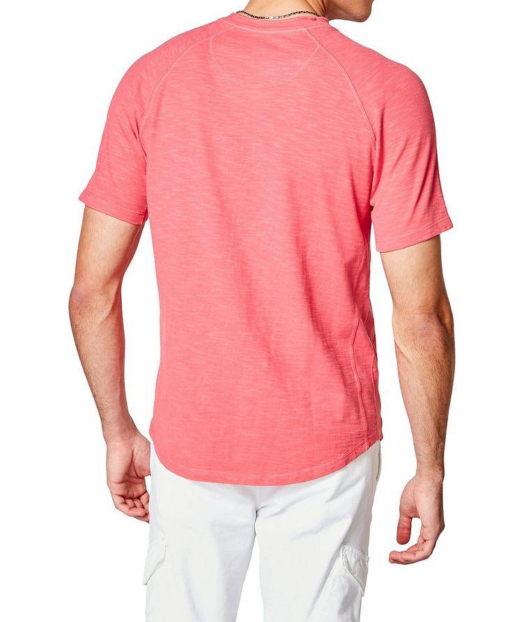 Short-Sleeve Slub Jersey Henley image 1