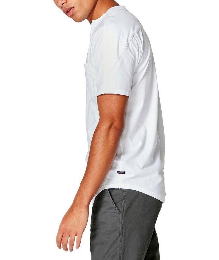 Notched Cotton-Jersey T-Shirt image 2