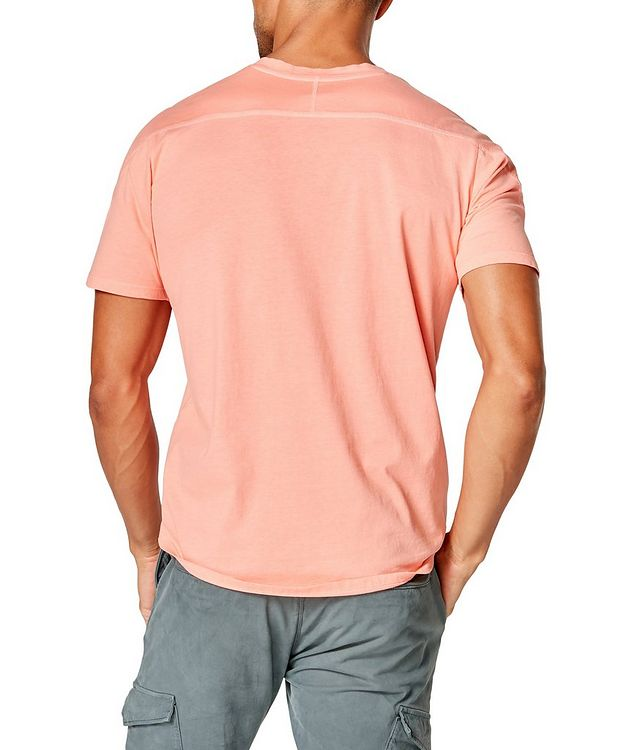 Notched Cotton-Jersey T-Shirt picture 2