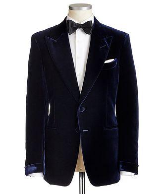 TOM FORD Shelton Velvet Cocktail Jacket