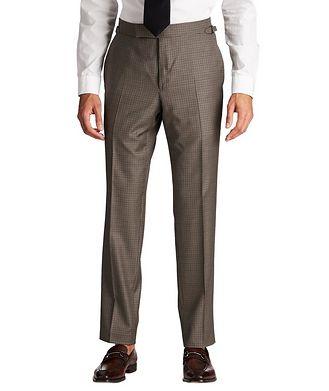 TOM FORD Slim Fit Houndstooth Dress Pants