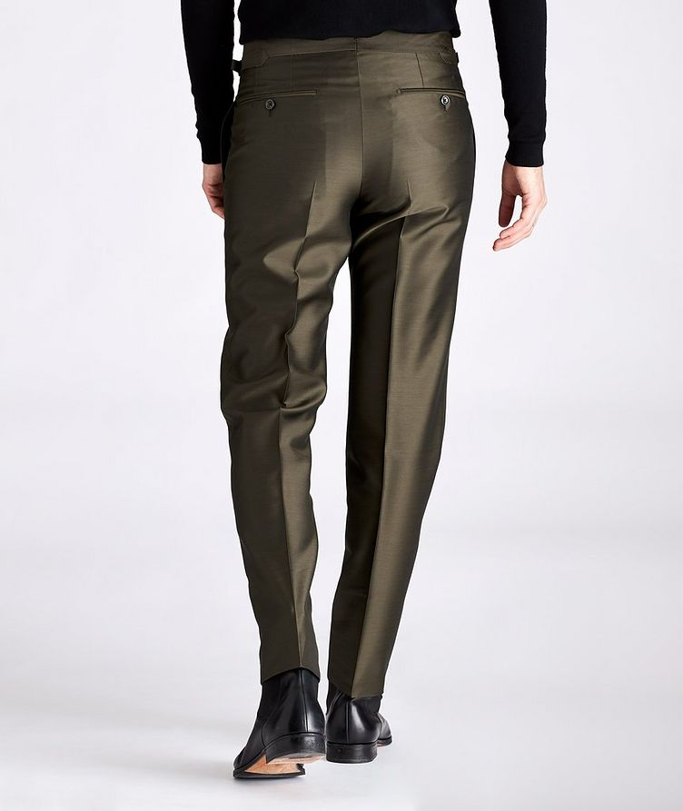 Slim-Fit Wool, Mohair, and Silk Dress Pants image 1
