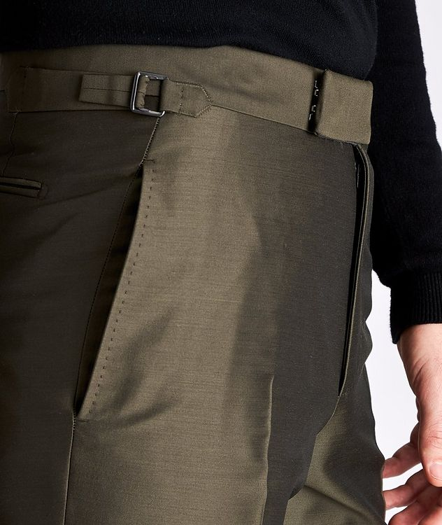 Slim-Fit Wool, Mohair, and Silk Dress Pants picture 3