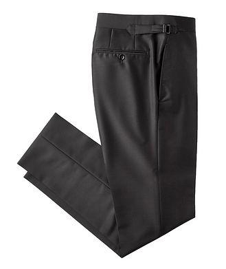 TOM FORD Slim Fit Mohair & Silk Dress Pants