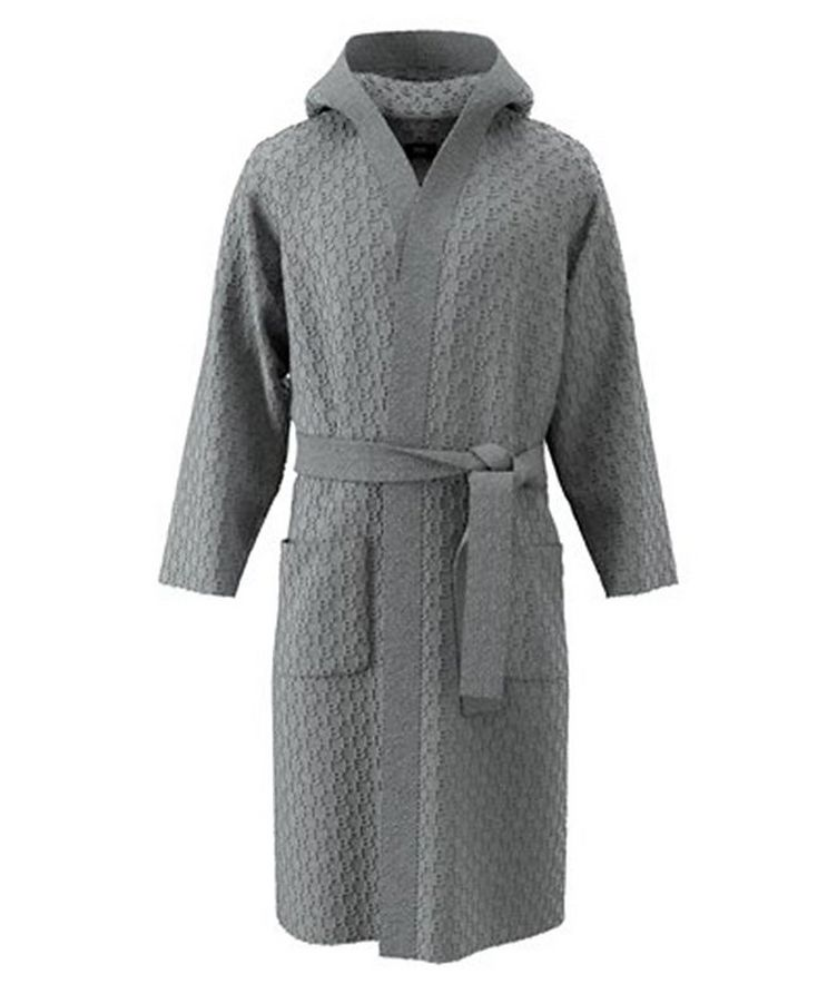 Hooded Cotton-Terry Robe image 0