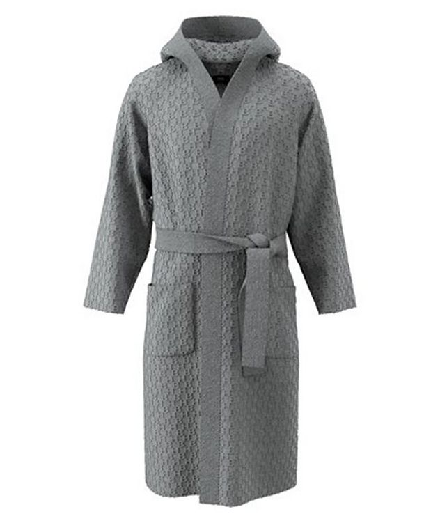Hooded Cotton-Terry Robe picture 1