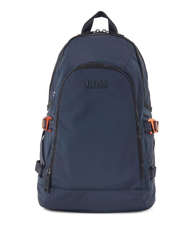 Structured Nylon Backpack image 0
