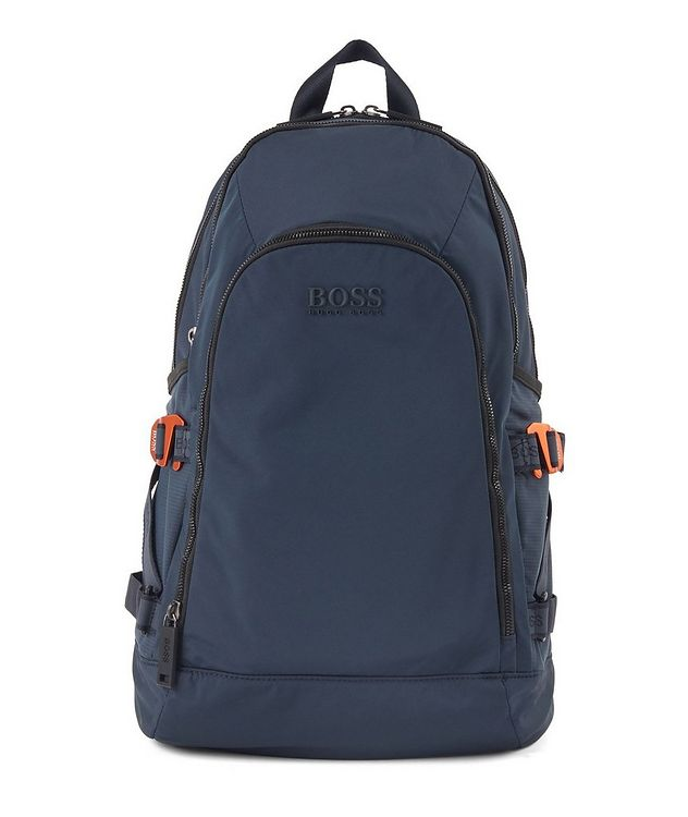 Structured Nylon Backpack picture 1