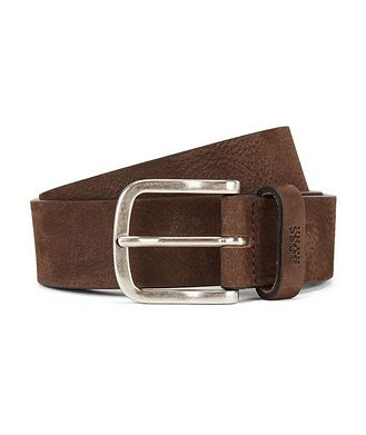 BOSS Suede Belt