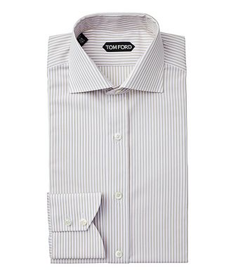 TOM FORD Slim Fit Striped Dress Shirt
