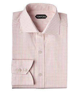TOM FORD Chemise habillée à carreaux vichy de coupe amincie