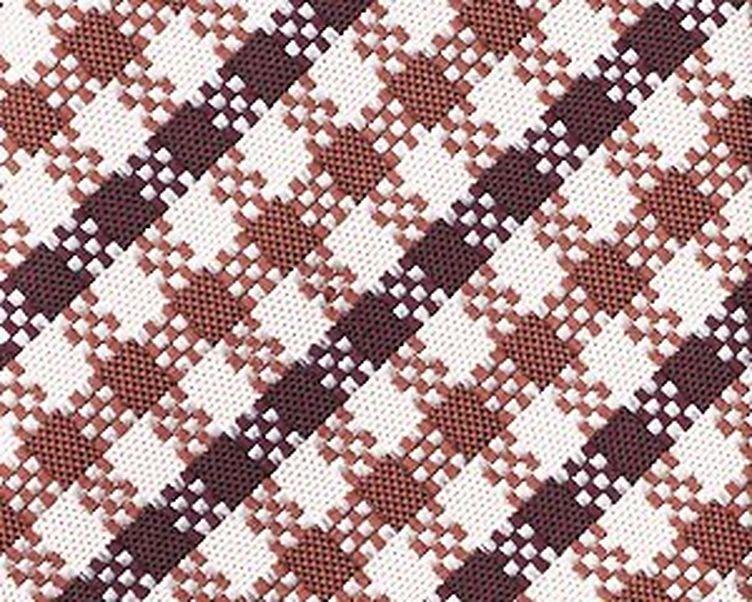 Checkered Silk Tie image 1