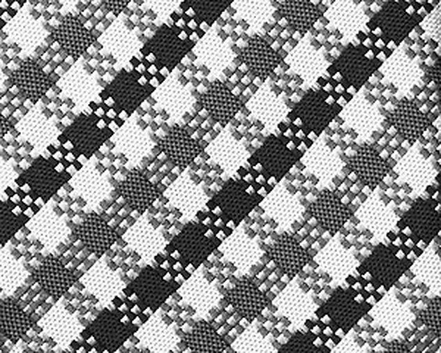 Checkered Silk Tie picture 2