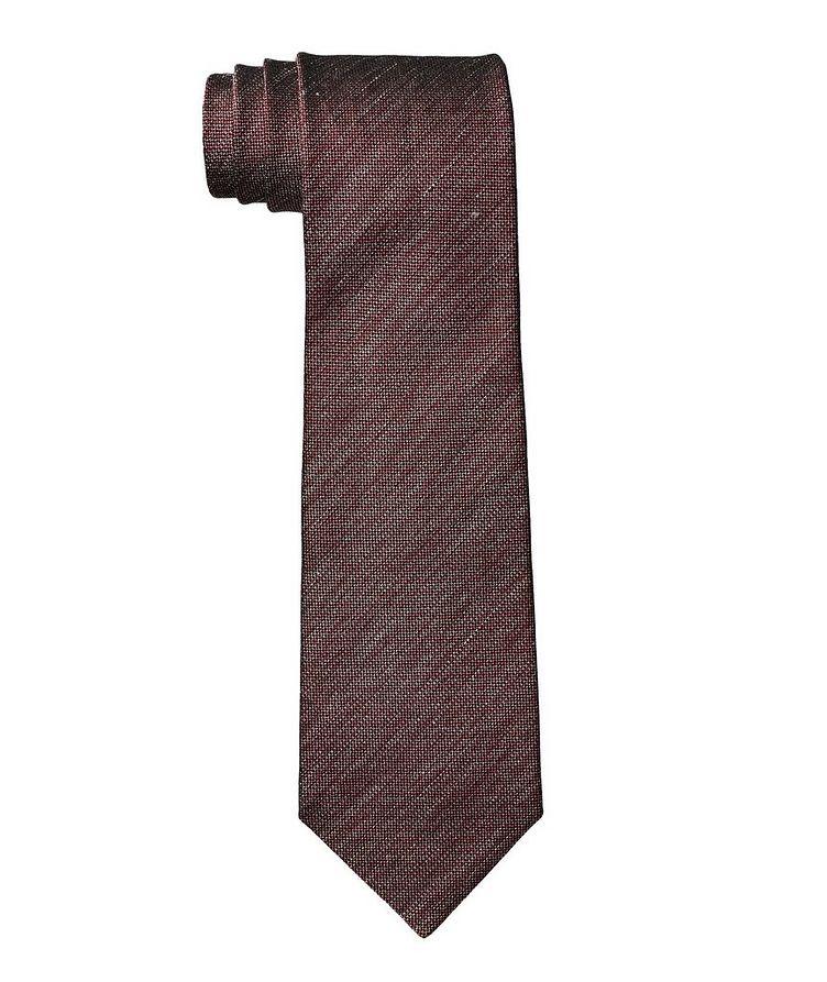 Silk-Linen Tie image 0
