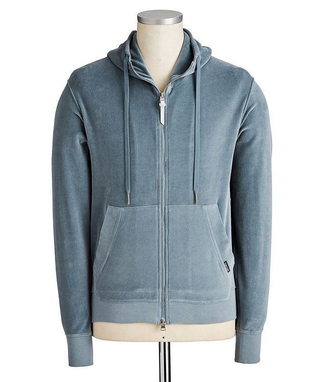 Brushed Cotton-Blend Hoodie picture 1