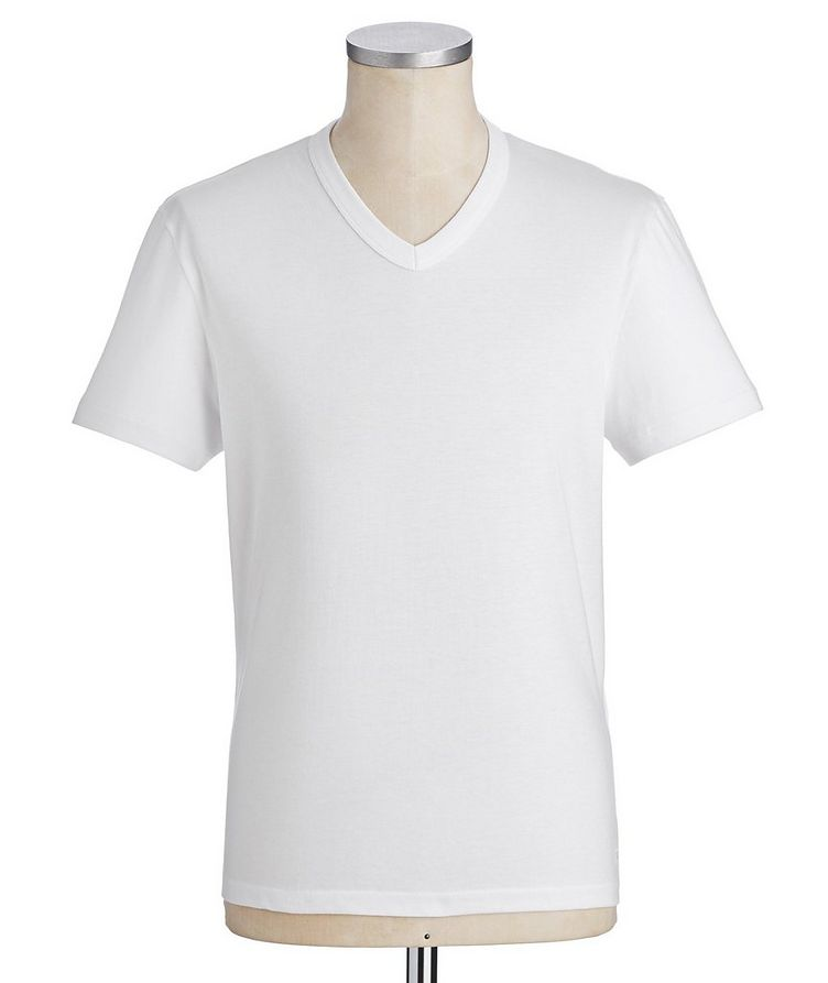 V-Neck Cotton T-Shirt image 0
