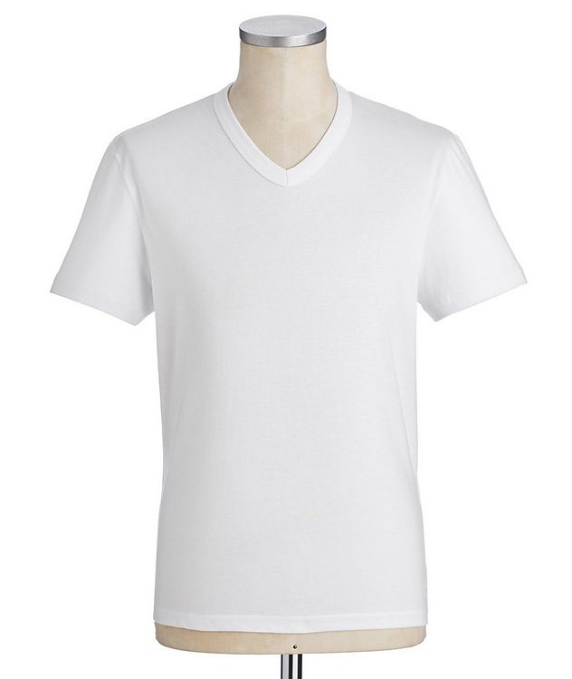 V-Neck Cotton T-Shirt picture 1
