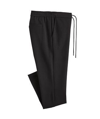 Patrick Assaraf Drawstring Jersey Trousers