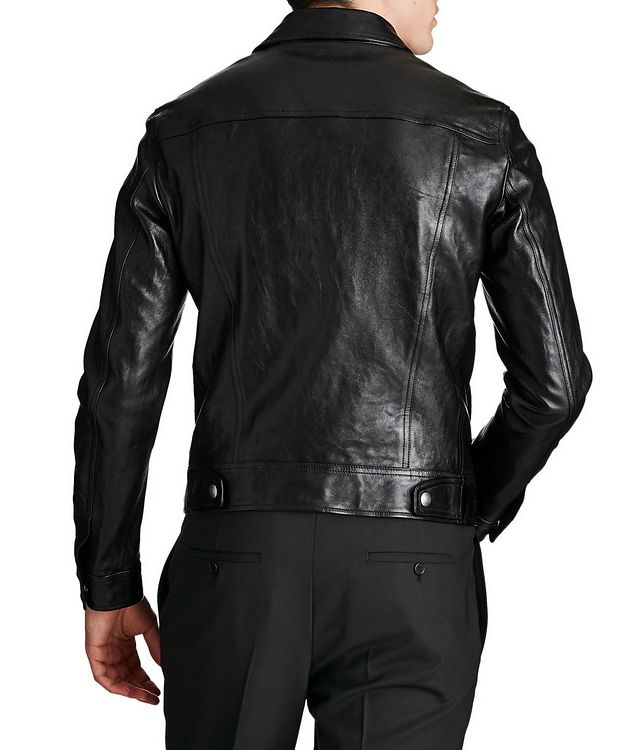 Leather Trucker Jacket picture 2