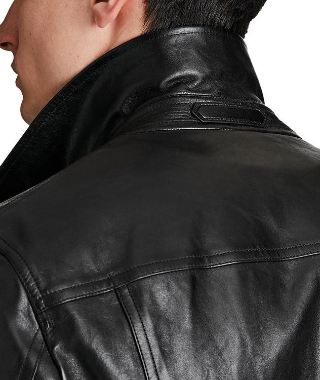 Leather Trucker Jacket picture 4