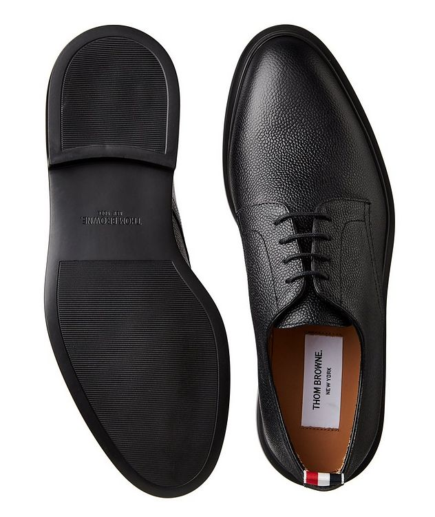 Pebbled Leather Derbies picture 3