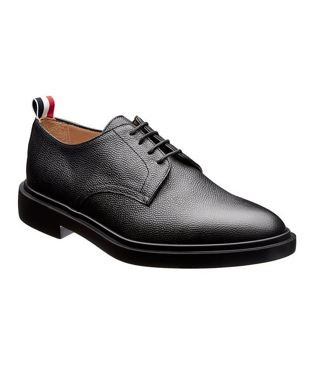 Pebbled Leather Derbies picture 1