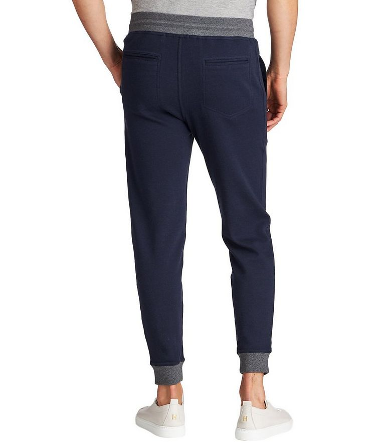 Stretch-Cotton Track Pants image 1