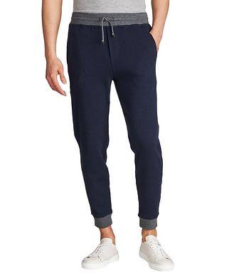 Brunello Cucinelli Stretch-Cotton Track Pants