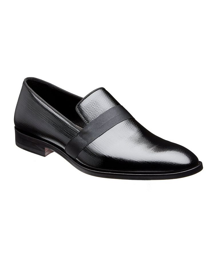 Embossed Patent Loafers image 0