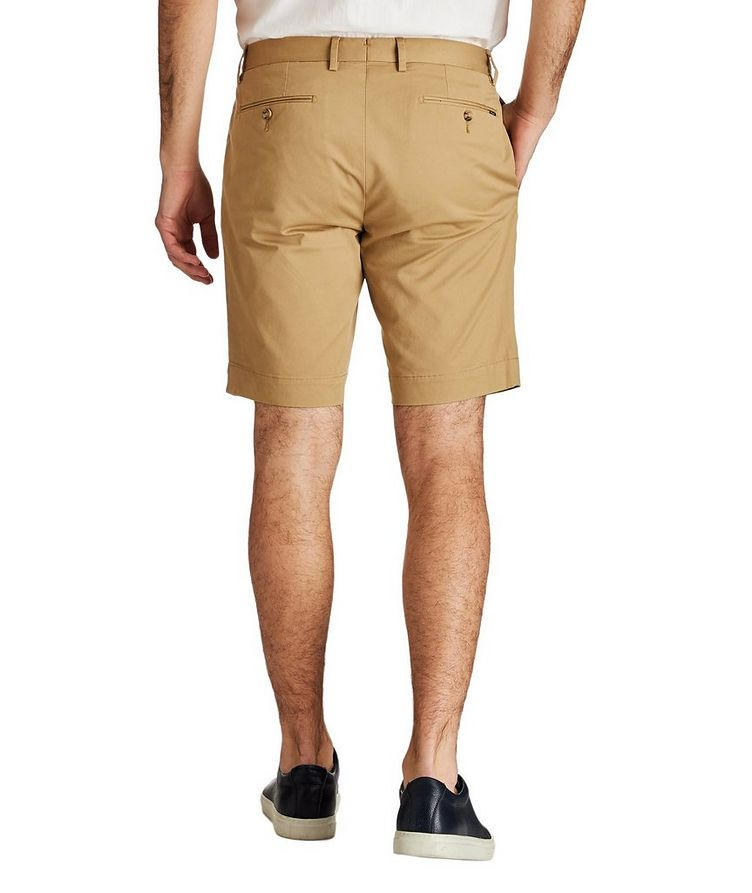 Stretch-Cotton Twill Shorts image 1
