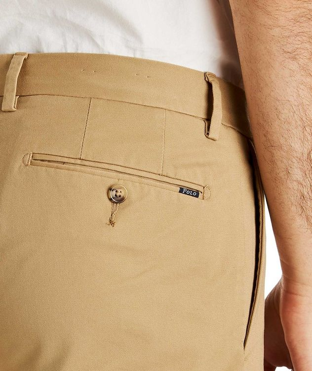 Stretch-Cotton Twill Shorts picture 3