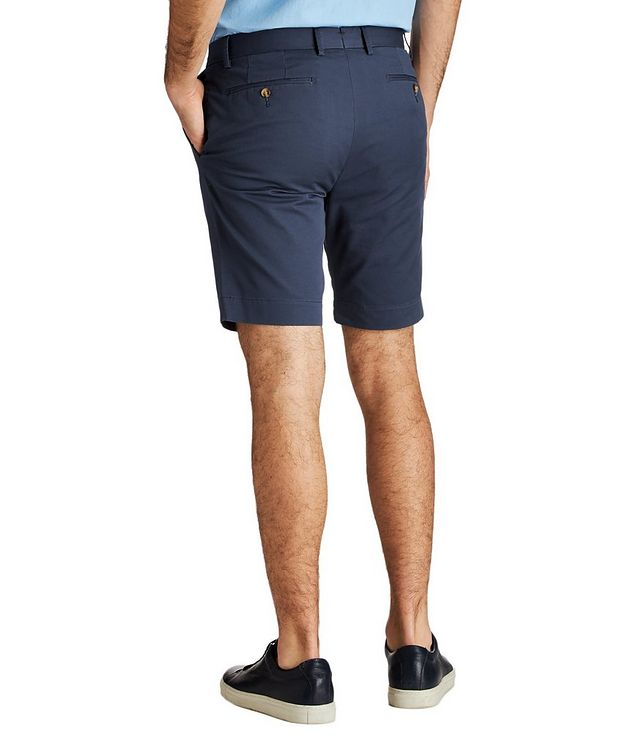 Stretch-Cotton Twill Shorts picture 2