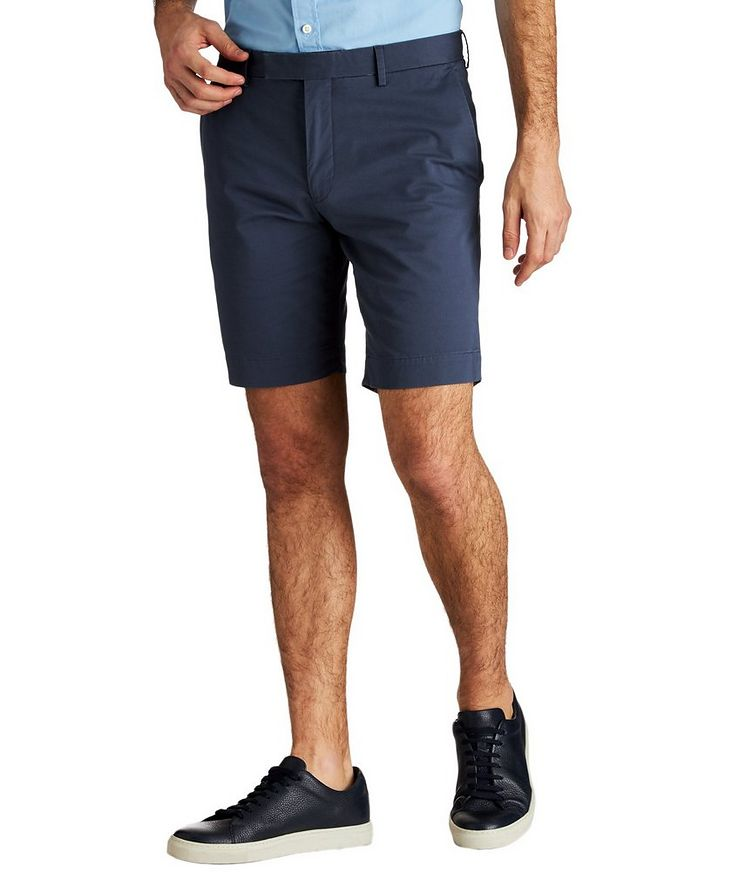 Stretch-Cotton Twill Shorts image 0