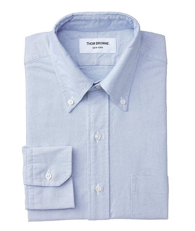 Grosgrain-Trimmed Chambray Shirt picture 1